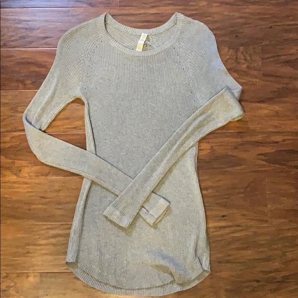 Lululemon grey soft knit tunic sweater